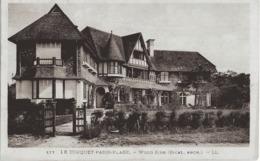 LE TOUQUET - PARIS-PLAGE - WOOD SIDE  - 1937 - Le Touquet