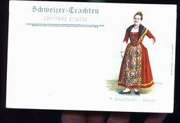 COSTUME SUISSE 1900 - Suisse