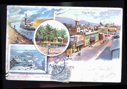 SUEZ 1900 - Postales