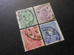 D.R.Mi 31a/32/33b/34a  - 1875/79 - Mi 19,00 € - Germany