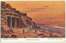 EGPC028 Egypt Tomeaux De Bani-Hassan Postcard - Al-Minya