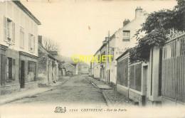 78 Chevreuse, Rue De Paris, Cliché Pas Courant - Chevreuse