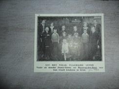 Origineel Knipsel ( 1168 ) Uit Tijdschrift :  Heyst - Op - Den - Berg  Heist - Op - Den - Berg  1929 - Vecchi Documenti