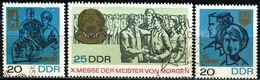DDR - Michel 1320 / 1322 Einzeln - OO Gestempelt (A) - Messe Der Meister Von Morgen 67 - Gebraucht