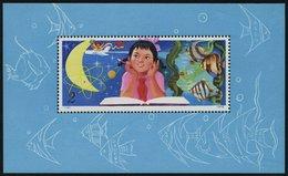 CHINA - VOLKSREPUBLIK Bl. 19 **, 1979, Block Wissenschaftliches Studium, Pracht, Mi. 2600.- - 1949 - ... People's Republic