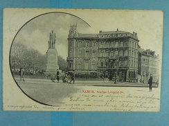 Namur Statue Léopold Ier - Namur