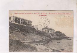 CPA SENEGAL, DAKAR,FALAISE DE LA POINTE DE LA DEFENSE ET CASERNES En 1912 ! - Senegal