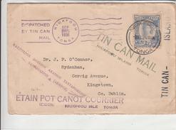 Tonga / Tin Can Mail / Ireland - Tonga (1970-...)