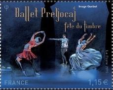 """France Philatélie N° 4983 ** Fête Du Timbre 2015 - La Danse Provenant Du Bloc """"ballet Preljocaj - Les Nuits"""" - Journée Du Timbre"""