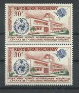 MADAGASCAR YVERT AEREO 95  (PAREJA)  MNH  ** - Madagascar (1960-...)