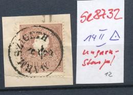 Österreich Nr. 14 II Ungarn-  O  (se8732  ) Siehe Bild - 1850-1918 Imperium