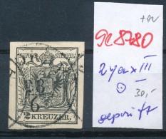 Österreich Nr. 2y  .......o  (se8780  ) Siehe Bild - 1850-1918 Imperium