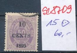 DK-West Indien Nr.15    O..  (se8709  ) Siehe Bild - Denmark (West Indies)