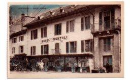Moutiers - Hotel Christin-voir état - Moutiers