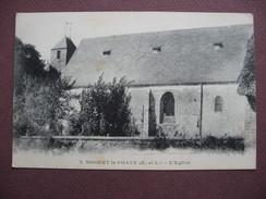 CPA 28 NOGENT LE PHAYE L'Eglise 1918 Canton CHARTRES 2 - Francia