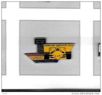 Pin's  Sport  Automobile F 1, Rallye  Carburant  STATION  SERVICE  ELF, Circuit  PAUL  RICARD  Avec  Pilote  J.J.F - Fuels