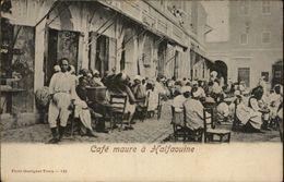 TUNISIE - HALFAOUINE - Café Maure - Tunisie