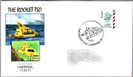The Rocket TSO -. THUNDERBIRD 4 - Gerry Anderson - Thunderbirds. Liverpool 2011 - Cinema