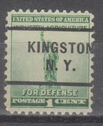 USA Precancel Vorausentwertungen Preo, Locals New York, Kingston 255 - Vereinigte Staaten