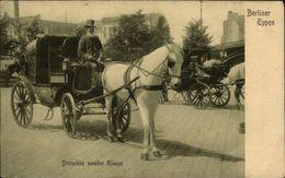 ALLEMAGNE - BERLIN - Type Berlinois - Droschke Zweiter Klasse - Allemagne