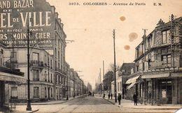 CPA COLOMBES - AVENUE DE PARIS - Colombes