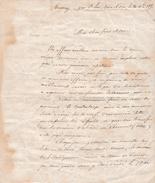1855 - TAVERNY (95) - FAILLITE , Mari Enfermé Maison D'aliénés De CLERMONT (60) - Documents Historiques