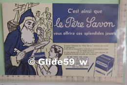 Buvard PERSAVON - C'est Ainsi Que Le Père Savon Vous Offrira Ses Splendides Jouets - Perfume & Beauty