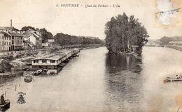 CPA PONTOISE - QUAI DU POTHUIS - L'ILE - Pontoise