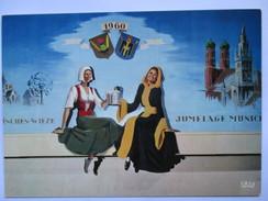 Jumelage Wieze- Munich  1960 - Belgien