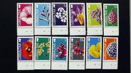 Gibraltar 1092/1110 (ohne 1098) YT 1093/1111 **/mnh, Wildblumen - Gibraltar