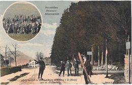 Frontiere Franco-Allemande  Sur La Route De SENONES à ST-BLAISE - Senones