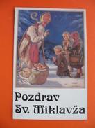 ST.NIKOLAS.Sveti Miklavz.Reprint-reproduction! - Saints