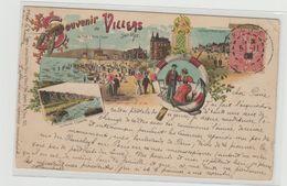 """1 Cpa Souvenir De Villers Sur Mer """" Pionnière """" - Villers Sur Mer"""