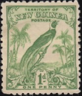 NEW GUINEA - Scott #31 Bird Of Paradise / Mint H Stamp - Great Britain (former Colonies & Protectorates)