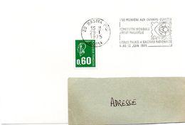 CORSE - Dépt N° 20 = BASTIA Ppal 1975 =  FLAMME SECAP ' ARPHILA / RENCONTRE MONDIALE ART PHILATELIE ' - Postmark Collection (Covers)