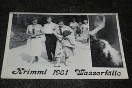 1873- Krimml 1981 Wasserfälle - Krimml