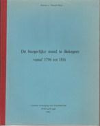 DE BURGERLIJKE STAND TE BEKEGEM VANAF 1796 TOT 1916 - History