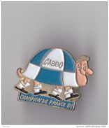 PIN'S THEME RUGBY  BEGLES EN GIRONDE CHAMION DE FRANCE 91  LA TORTUE - Rugby