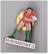 PIN'S THEME RUGBY CLUB DE MIRAMONT EN LOT ET GARONNE - Rugby