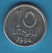 ARMENIA 10 LUMAS 1994 KM# 51 - Armenia