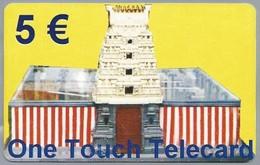 DE.- INTERNATIONAL PHONECARD - One Touch Telecard. 5 Euro -  2 Scans. - GSM, Voorafbetaald & Herlaadbare Kaarten