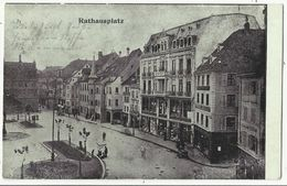 68. MULHOUSE - MULHAUSEN - Rathausplatz - Feldpost 894 Pionier Bataillon 9 - 3. Kompagnie 1918 - Mulhouse