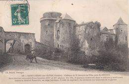 Cp , 85 , SAINT-ANDRÉ-sur-SÈVRE N Château De St-Mesmin-la-Ville, Près De St-MESMIN - France