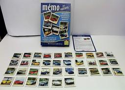 JEU DE SOCIETE - MEMORY Des Voitures - Edition Spiel Spass 2002 - Jeux De Société