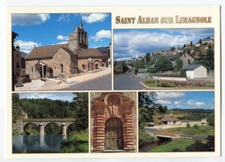 CPM 48 SAINT ALBAN Sur LIMAGNOLE - Saint Alban Sur Limagnole
