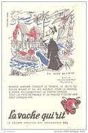 Buvard La Vache Qui Rit Les Découvertes N°5 Francis Garnier Conquit Le Tonkin, Illustré L. M. Bayle - Dairy