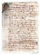 DAMBLAINVILLE.CALVADOS.8 Pages.1680. - Documents Historiques