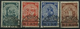 Dt. Reich 351-54 O, 1924, Nothilfe, Prachtsatz, Mi. 100.- - Germany