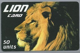IT.- INTERNATIONAL PHONECARD. LION CARD 50 UNITS..- 2 Scans. - Italie
