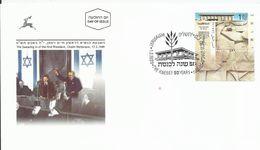 50º Aniversario Del Parlamento Judío Knesset. (Político / Patriótico) - Sobres